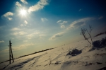 Winter day with sun