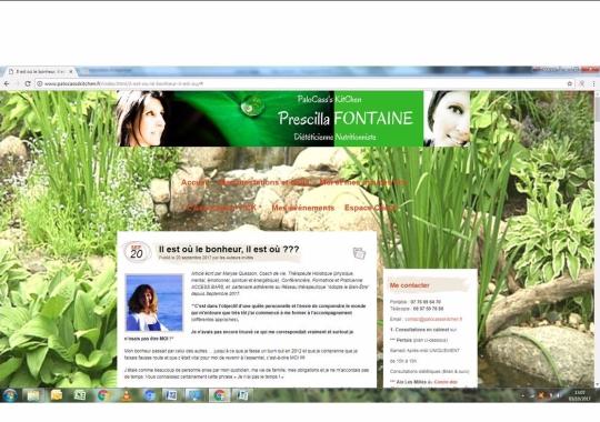 01102017 imprime écran art sur la newsletter de Palocass kitchen